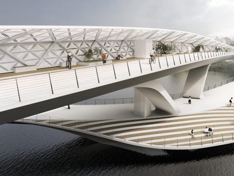 Daylight render stairs 五岔子大橋 - Wuchazi Bridge (INFINITE LOOP)