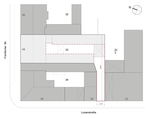 architecture perspective tower site plan