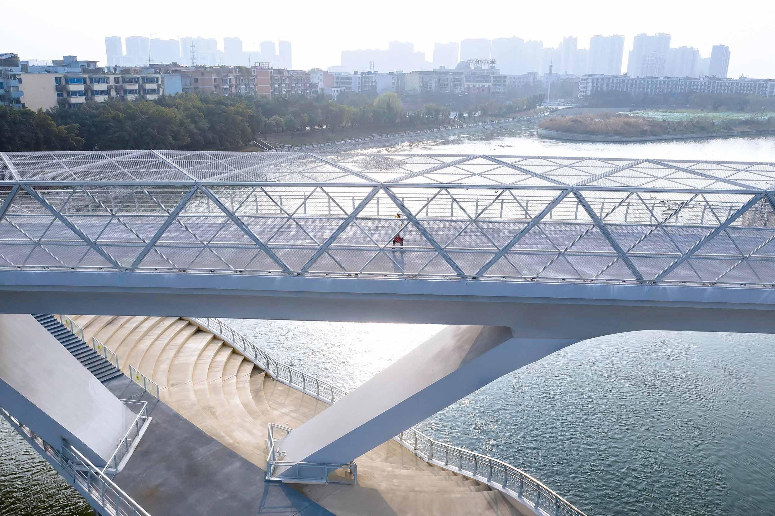 Daylight Detail Shot 五岔子大橋 - Wuchazi Bridge (INFINITE LOOP)