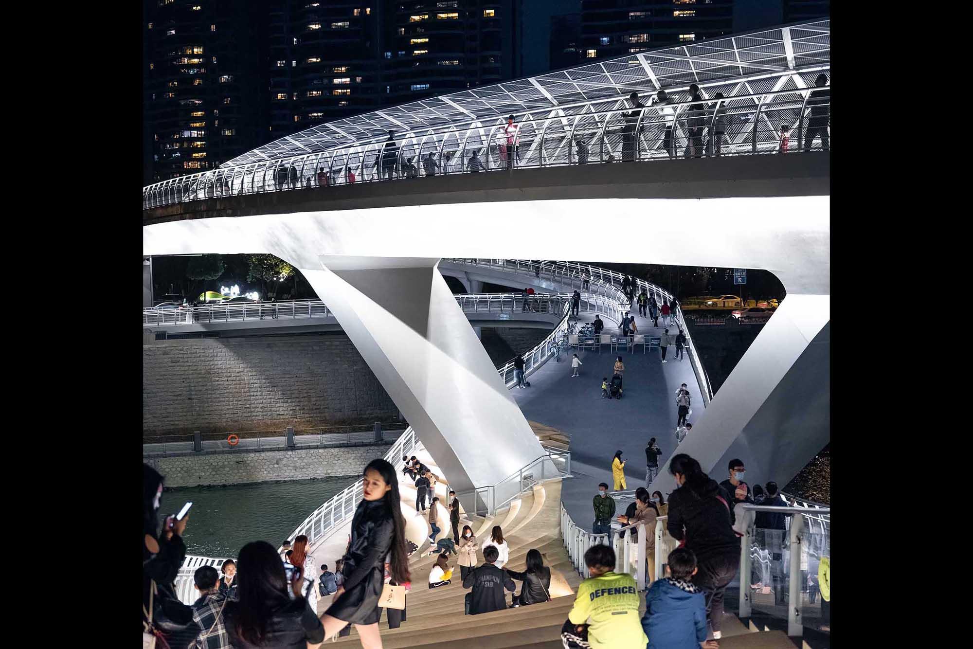 Night Shot 五岔子大橋 - Wuchazi Bridge (INFINITE LOOP)
